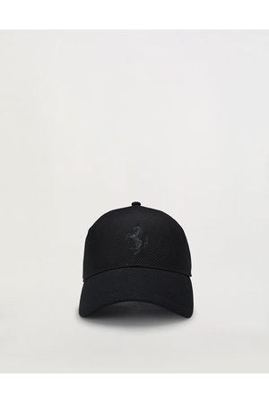 FERRARI Kids' seamless baseball hat with Prancing Horse