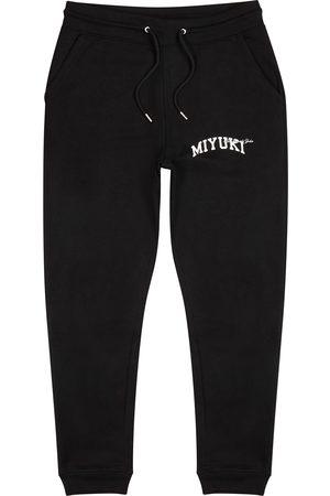 Mki Miyuki Zoku Logo jersey sweatpants