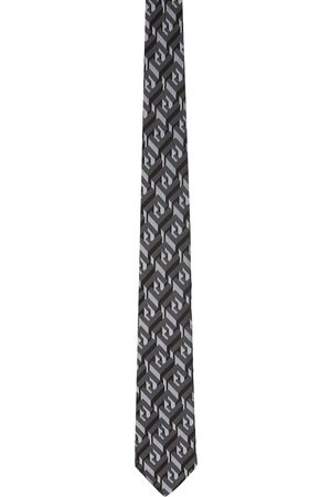 Fendi Black Silk 'Forever ' Tie
