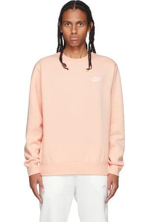 Nike Orange Sportswear Club Sweatshirt