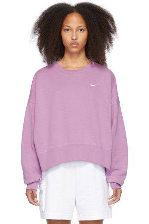 Nike Purple Sportswear Essential Sweatshirt