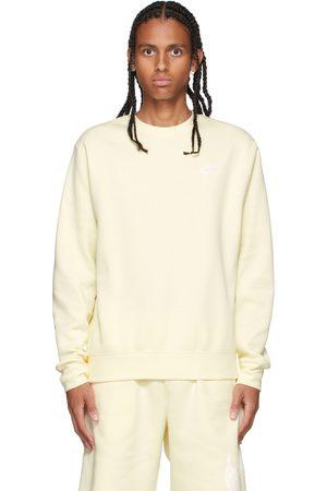 Nike Yellow Sportswear Club Sweatshirt