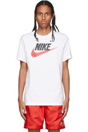 Nike White Icon Futura T-Shirt