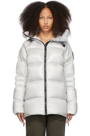 Canada Goose Silver Down 'Black Label' Packable Puffer Coat