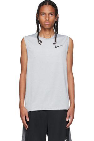 Nike Grey Dri-FIT Pro Tank Top