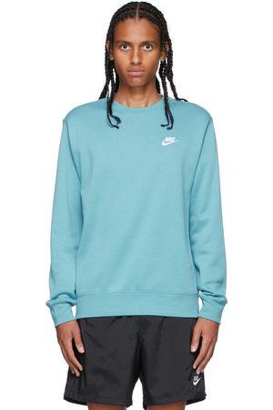 Nike Blue Sportswear Club Sweatshirt