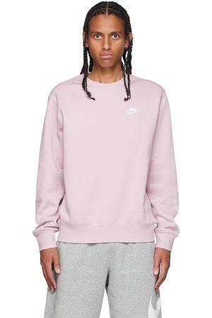 Nike Pink Sportswear Club Sweatshirt