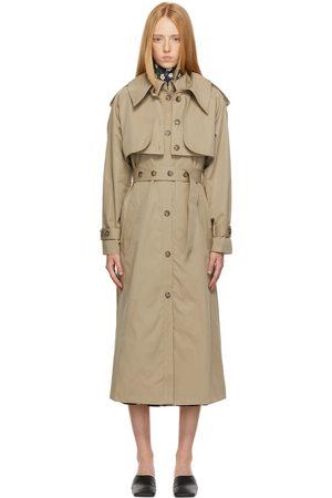 Rokh Beige Bolero & Trench Coat