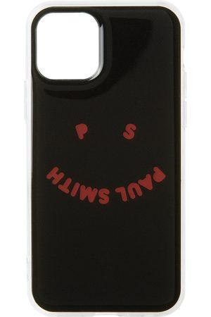 Paul Smith Black Happy Print iPhone 11 Pro Case