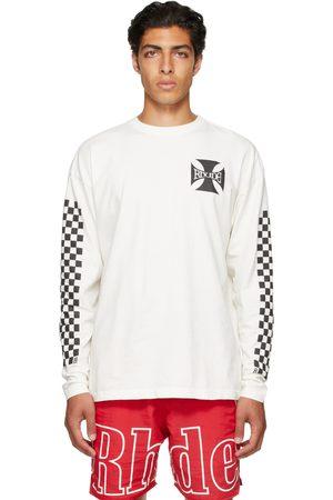 Rhude SSENSE Exclusive Off- Long Sleeve T-Shirt