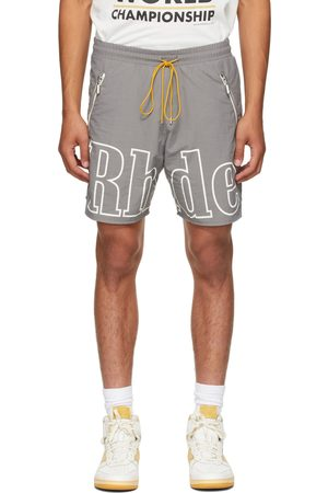 Rhude Grey Logo Short
