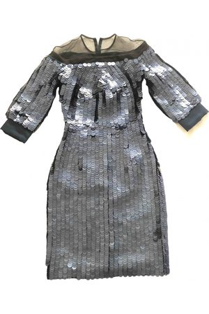 GILES Silk mid-length dress