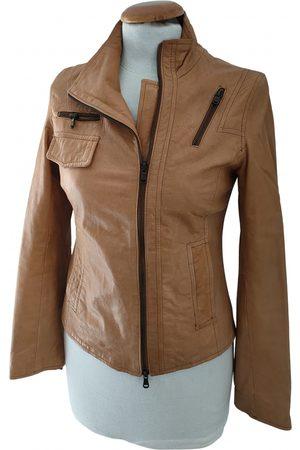 Relish Camel Leather Leather Jackets