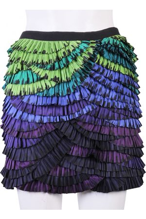 Diane von Furstenberg Silk mini skirt