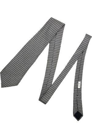 Hermès /black Silk Ties