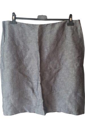 Silviano Biagini Women Mini Skirts - Linen mini skirt