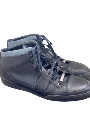 Dior Homme Leather high trainers