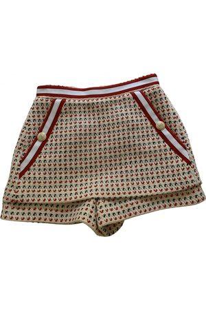 Maje Spring Summer 2020 tweed mini skirt