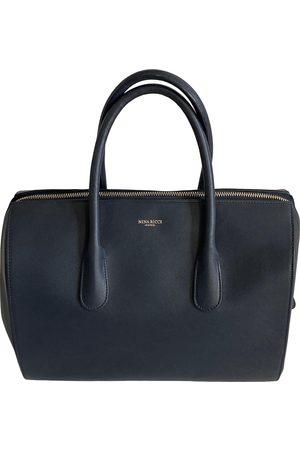 Nina Ricci Leather bowling bag