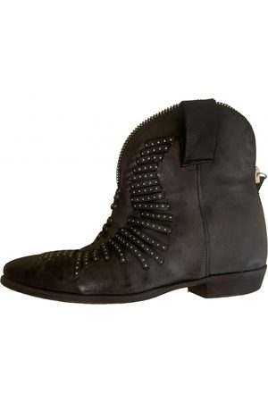 CINZIA ARAIA Leather biker boots