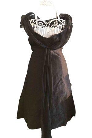 MATICEVSKI Linen mid-length dress
