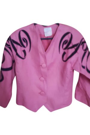 EMMANUELLE KHANH Linen short vest