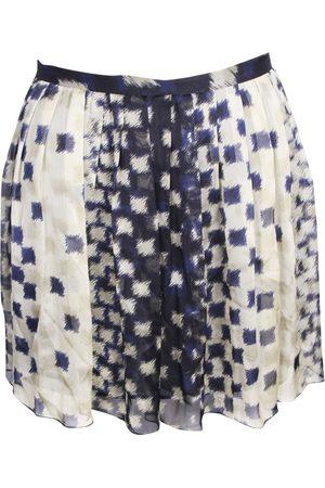 Joseph Silk mini skirt