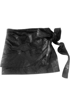 Sandro Spring Summer 2021 glitter mini skirt