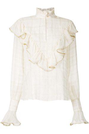 Olympiah Women High Necks - Versailles high neck shirt - Neutrals