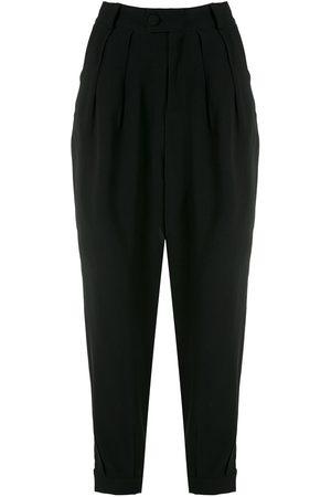 Olympiah Women Straight Leg Pants - Luyne pleated trousers