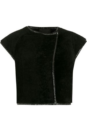 Andrea Bogosian Cropped shearling jacket