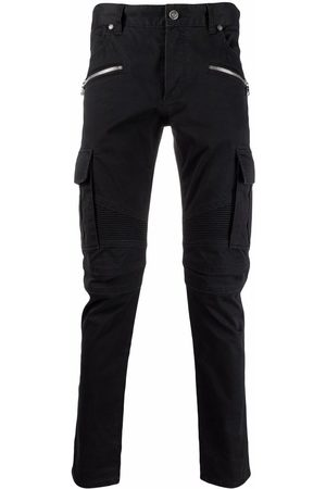 Balmain B-embossed cargo jeans