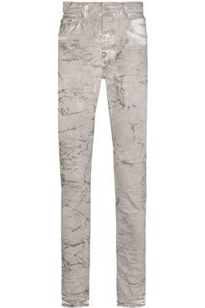 Purple Brand Mechanic Dirty skinny jeans - Grey