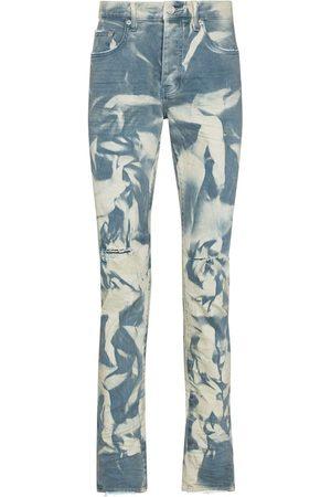 Purple Brand P001 sprayed slim-fit jeans