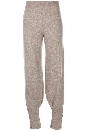 Altuzarra Collins knitted trousers - Grey