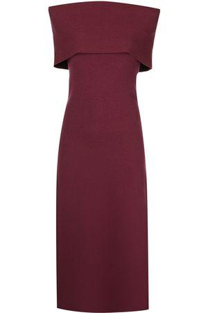 Altuzarra Women Strapless Dresses - Jill off-shoulder knit dress