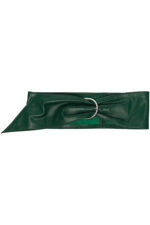 Isabel Marant Asymmetric D-buckle belt