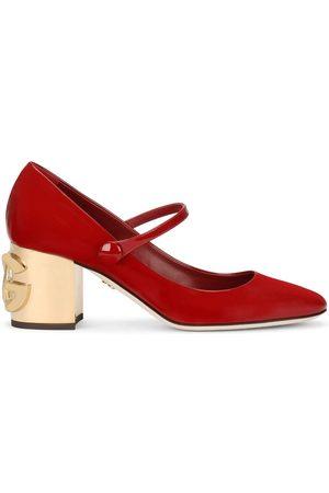 Dolce & Gabbana Logo heel Mary Jane pumps