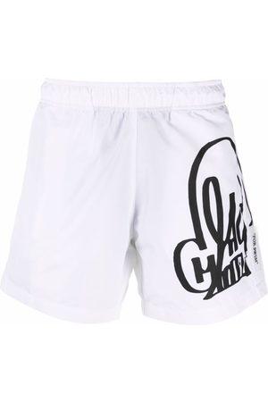 Off-White X Katsu swim shorts