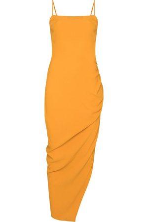Reformation Mignon asymmetrical midi dress