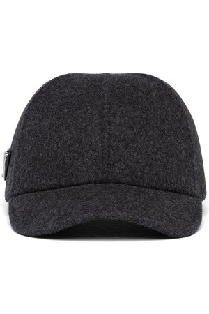 Prada Wool-felt baseball cap - Grey