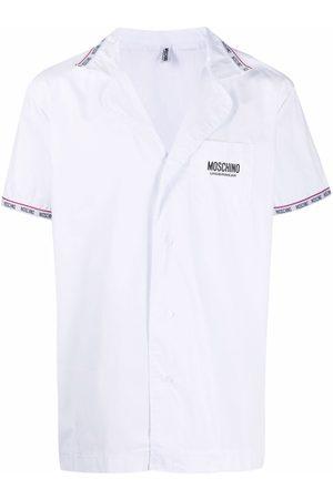 Moschino Logo trim pajamas