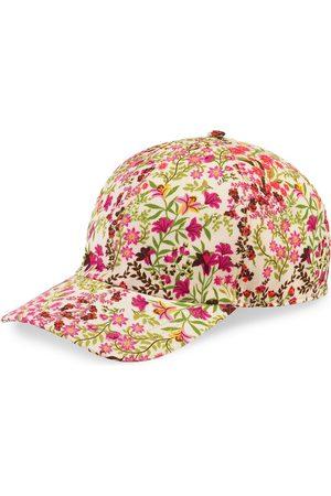 Gucci Eschatology logo floral baseball cap