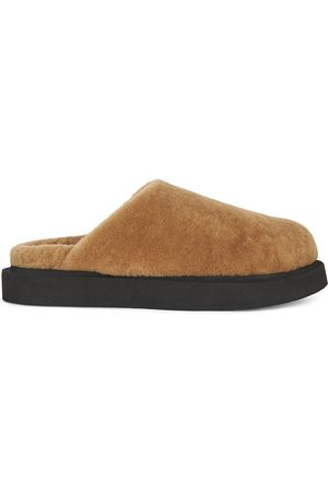 Giuseppe Zanotti Men Slippers - Wynter shearling slippers - Neutrals