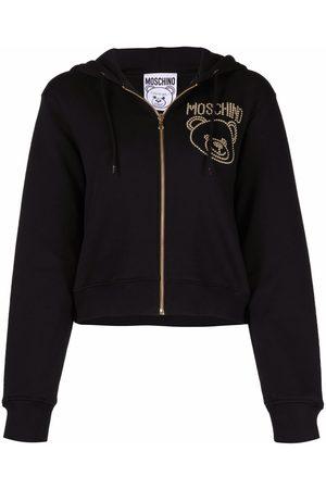 Moschino Studded Teddy Bear hoodie
