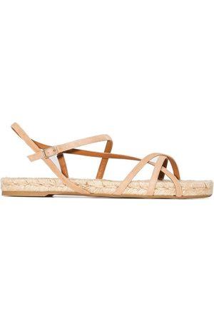 Castaner Pauli flat espadrille sandals - Neutrals