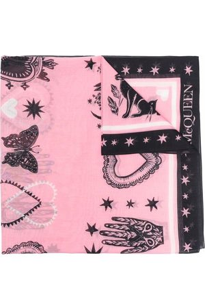 Alexander McQueen Motif-print scarf