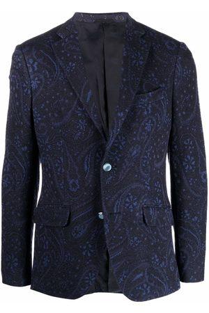 Etro Paisley jacquard wool blazer