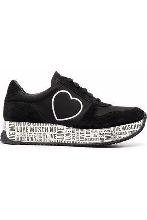 Love Moschino Heart-print sneakers