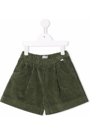 Il gufo Corduroy bermuda shorts